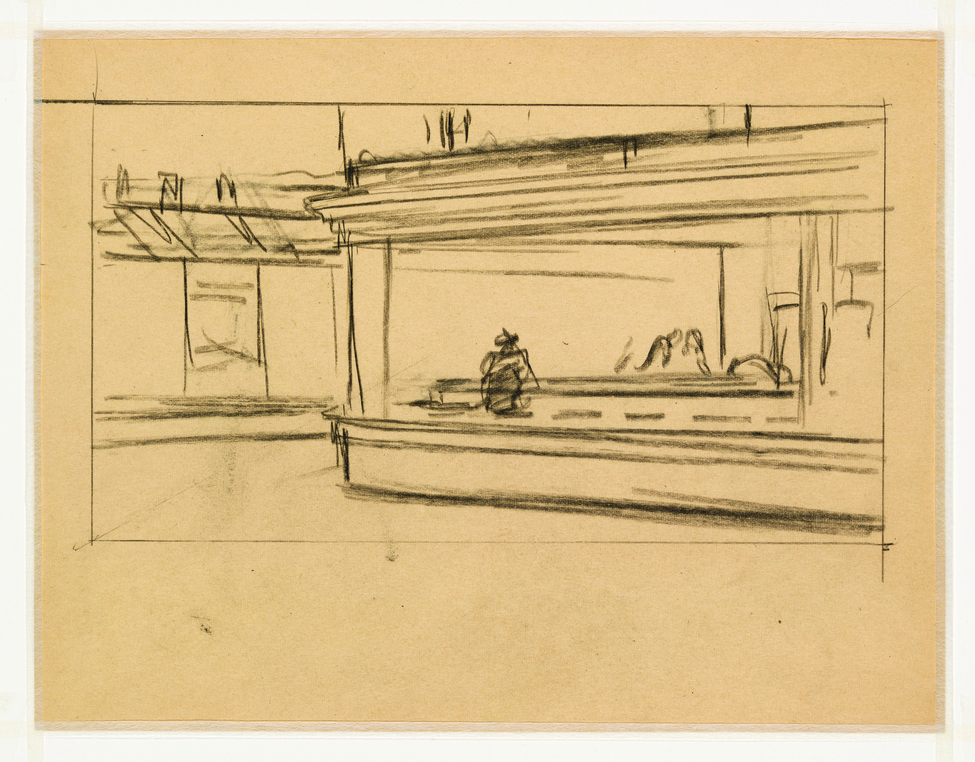 edward hopper research papers Meet painter edward hopper at biographycom his portrait of a late-night corner diner, nighthawks , became an icon of mid-century art.