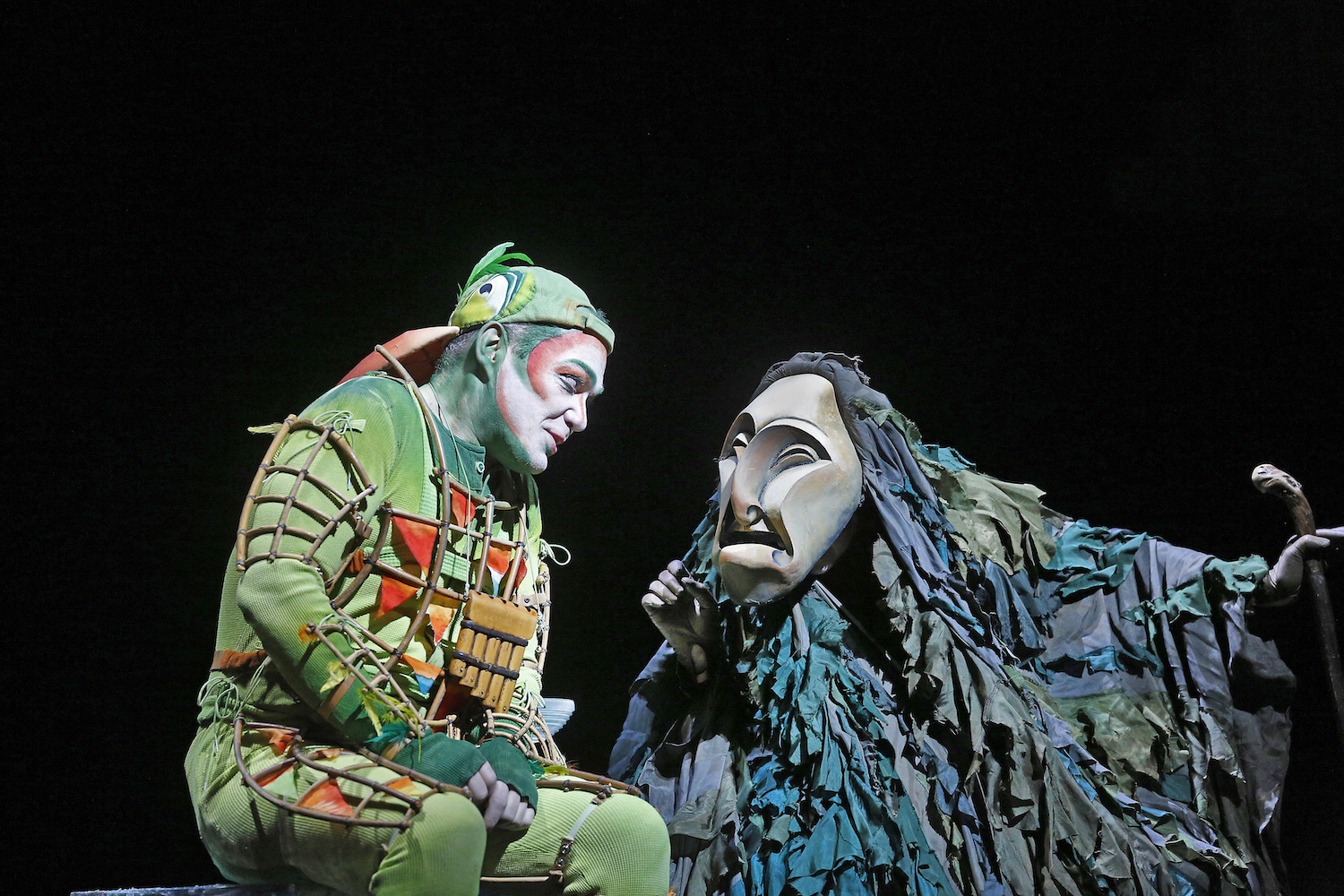 "Christopher Maltman as Papageno in Mozart's ""The Magic Flute."" Photo: Ken Howard/Metropolitan Opera"