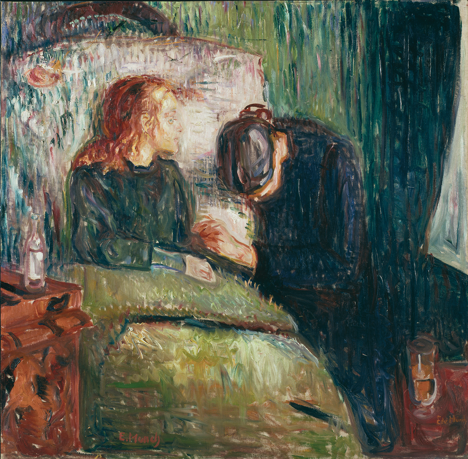 Norwegian would: the efforts of Edvard Munch by Franklin